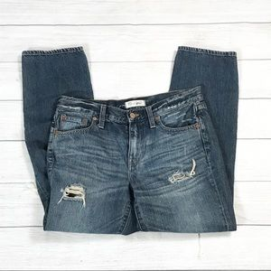 Madewell Jeans - Madewell diy destroyed boy jeans medium wash